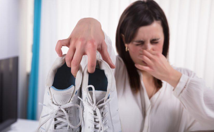 رهایی از بوی بد کفش