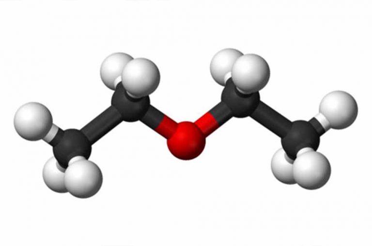 ساختار دی اتیل اتر