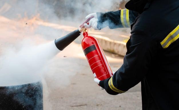 خطر آتش سوزی با پرمنگنات پتاسیم