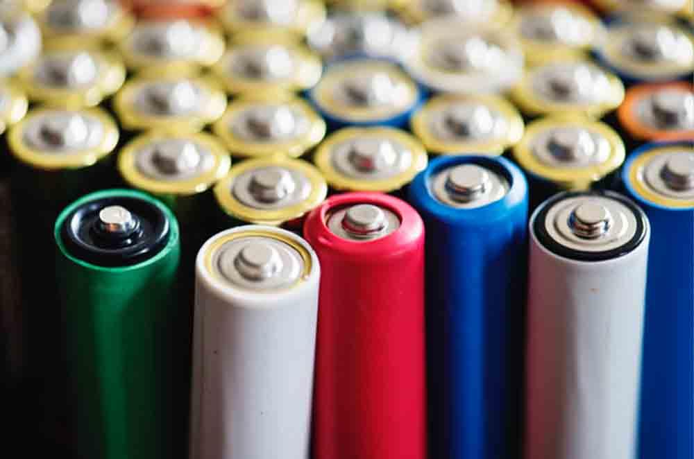 جیوه در ساخت باتری
