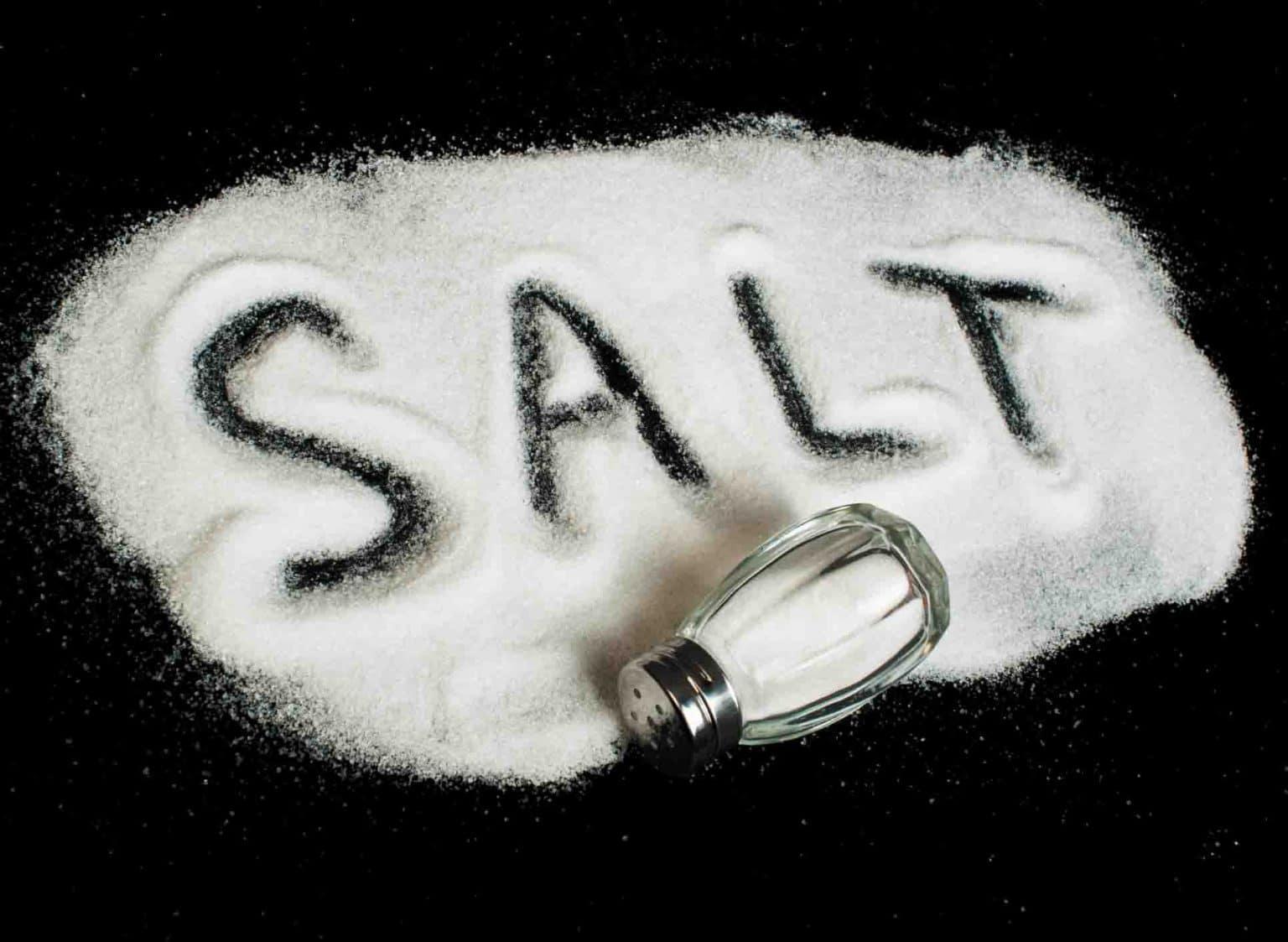 سدیم در نمک خوراکی